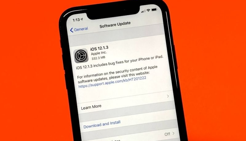 Apple Stops Signing iOS 12.1.1 and 12.1.2 On Heels of the Release of iOS 12.1.3