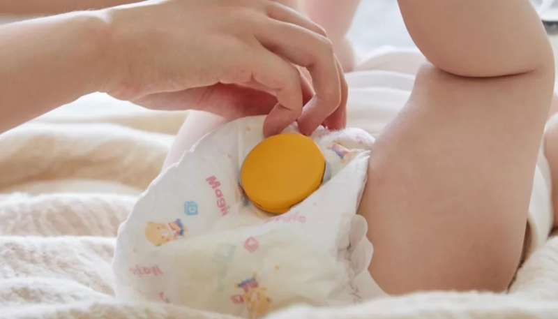 CES 2019 – Smart Diaper Monitor for iPhone Will Alert You When Your Little One Has a Full Diaper