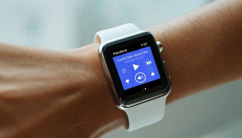 Pandora's Apple Watch App Now Offers Siri Support