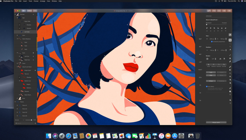 Pixelmator Pro for Mac Update Brings Support for Portrait Masks, New Comics Effect, Much More