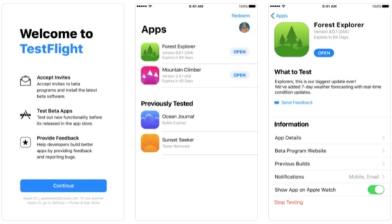 TestFlight for iOS Gets an Update, Adds Dynamic Text Support, 38 Additional Languages