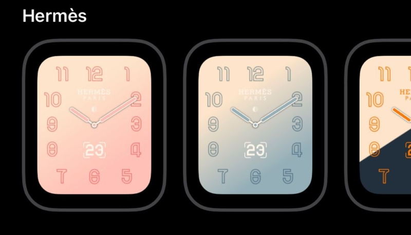 watchOS 5.2 Beta Three Released to Developers – Includes New Watch Faces for Hermès Models