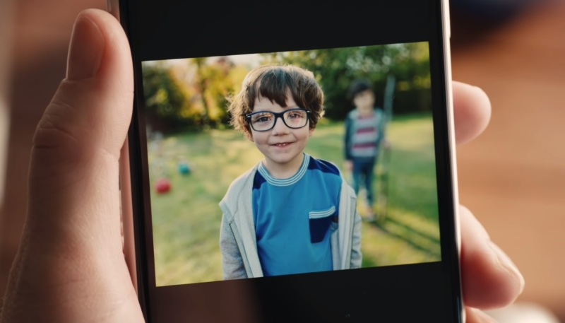 Humorous iPhone XR Ad Features Portrait Mode Depth Control Bokeh Effect