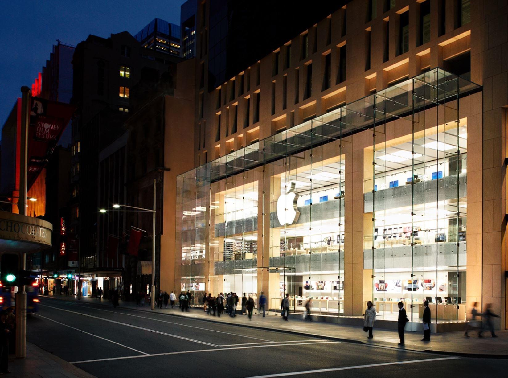 Apple Store George Street_ Sydney_ Australia