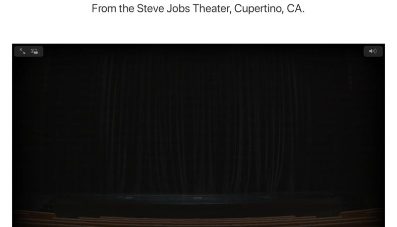 Apple Teases Us With Steve Jobs Theater Live Stream