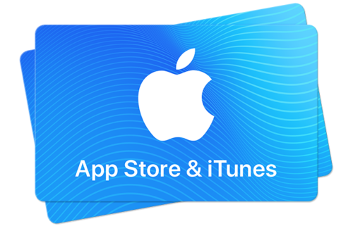 can you use itunes gift cards for apple store