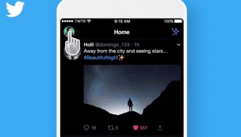 Twitter for iOS Gets a New 'Lights Out' Darker Dark Mode Option