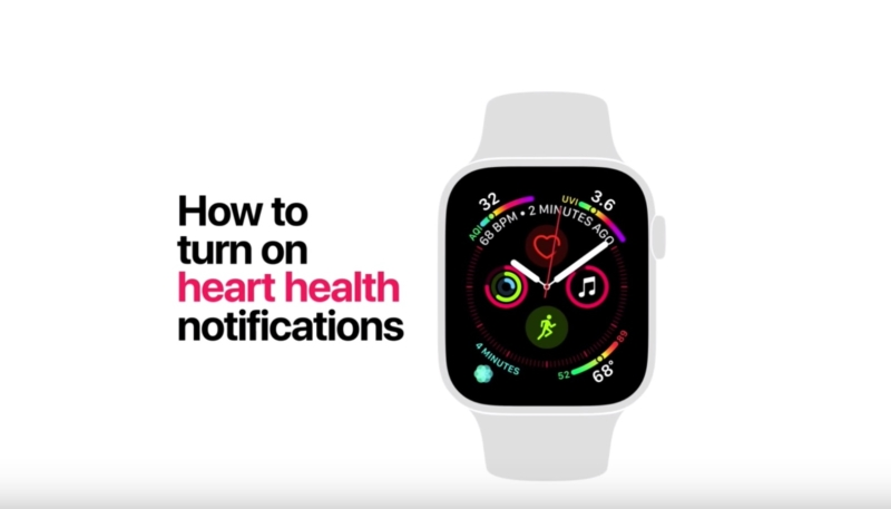 New Apple Watch Series 4 Videos Focus on How to Turn on Fall Detection and Heart Health Features