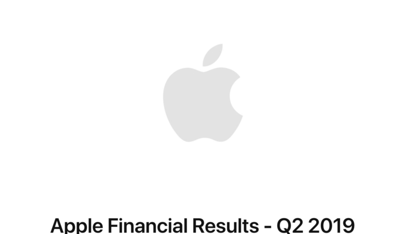 Apple (AAPL) Reports Fiscal Q2 2019 Revenue Later Today