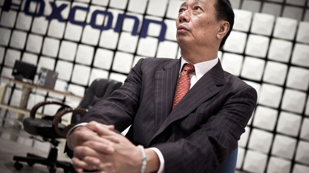Foxconn CEO Gou Announces He's Stepping Down From Post