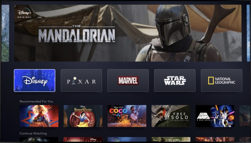 Disney+ App Now Available on iPhone, iPad and Apple TV