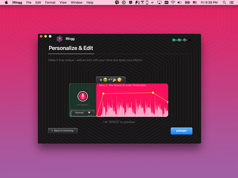 MacTrast Deals: iRingg Ringtone Creator for Mac