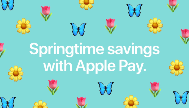 """Latest Apple Pay Promo Offers """"Springtime Savings"""" From Wayfair, Sonic, Priceline and More"""