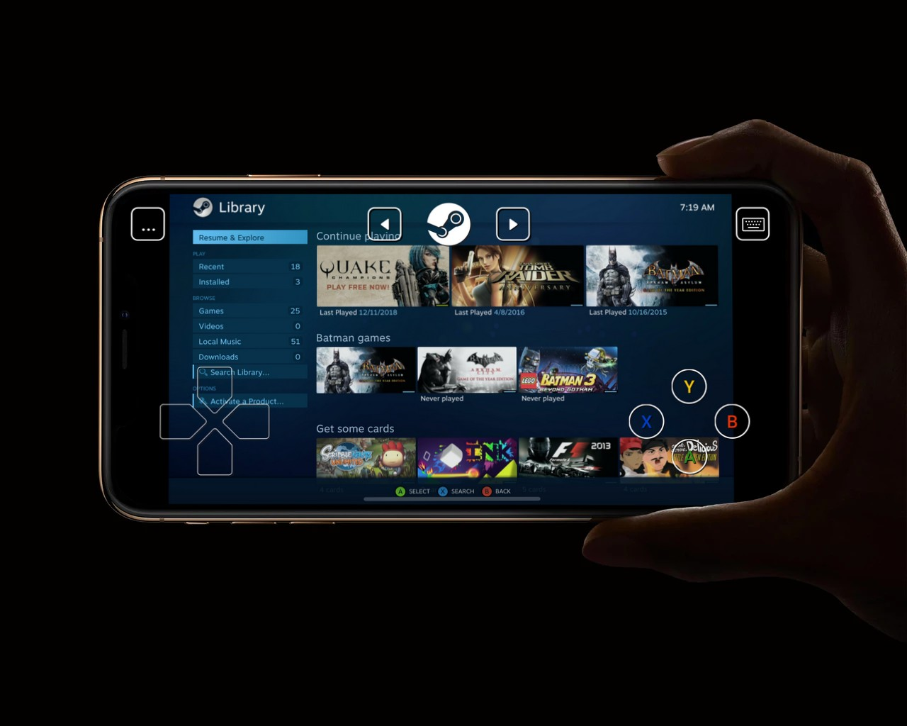 Valve's 'Steam Link' App Finally Makes it to iOS Devices