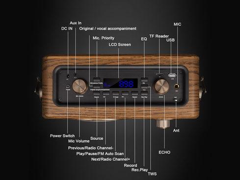 MacTrast Deals: LuguLake Handheld Multi-Functional Retro Bluetooth Speaker