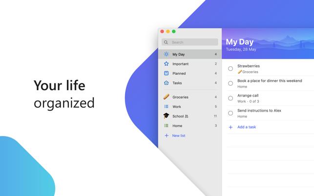 Microsoft's To-Do Checklist App Comes to macOS