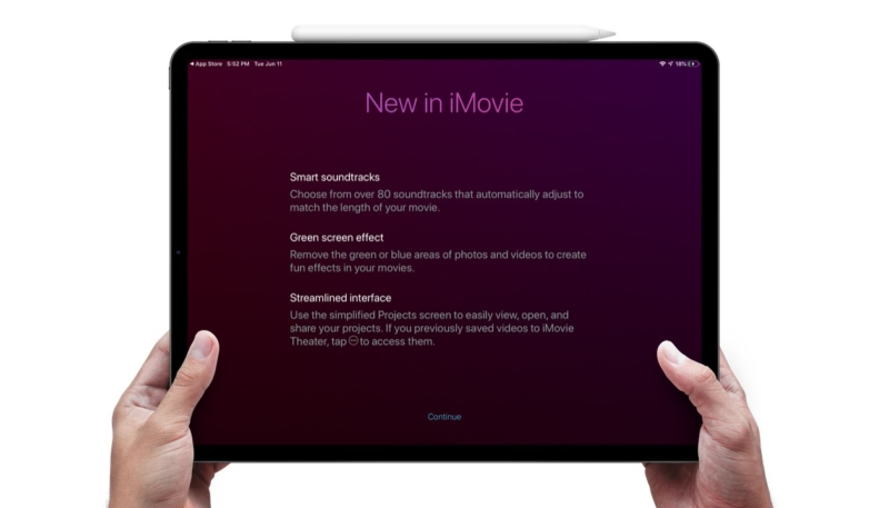 iMovie for iOS Update Adds Green Screen Effects, 80 New Soundtracks, Much More