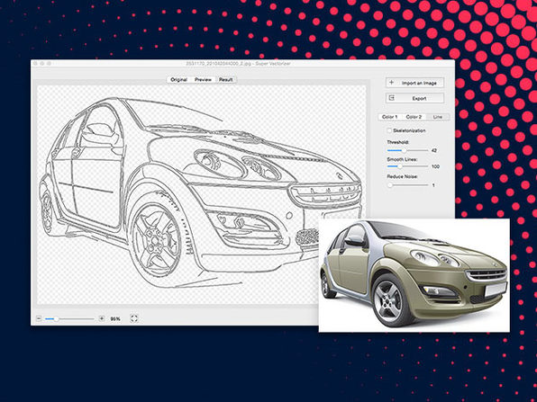 Mactrast Deals: Super Vectorizer 2 for Mac: Lifetime License