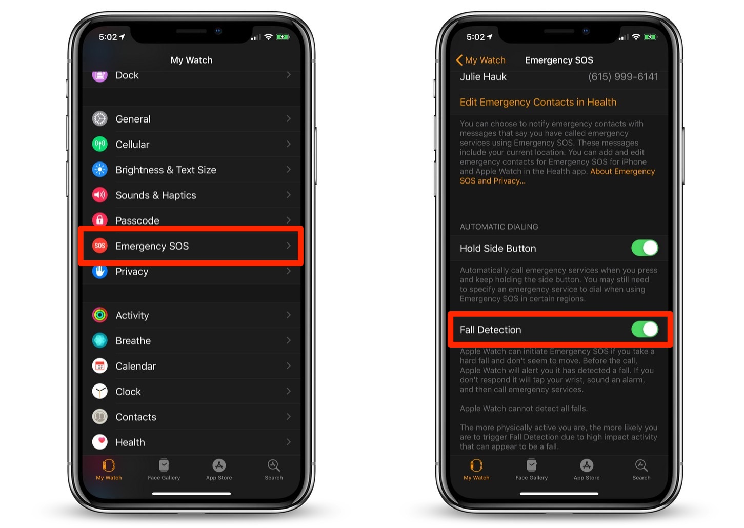How To Turn on Fall Detection on Your Apple Watch Series 4