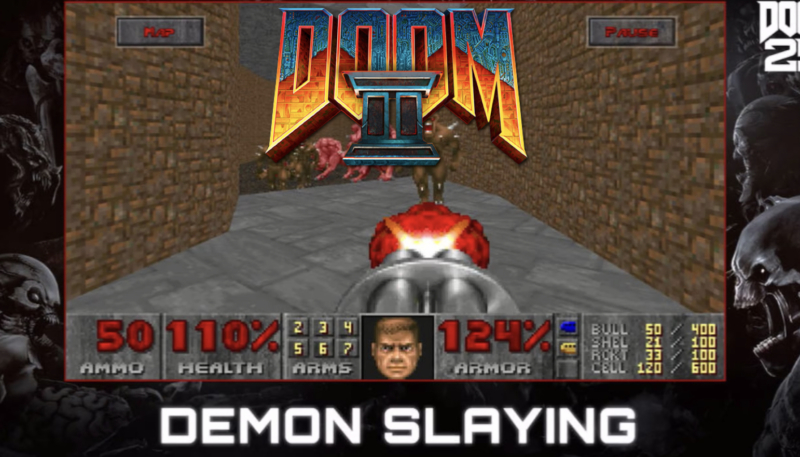 DOOM and DOOM II for iOS Now Runs at 60fps and Supports Free Add-ons