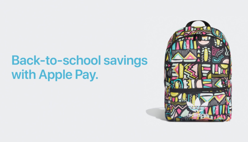Apple's Latest Apple Pay Promo Offers Back-to-School Savings