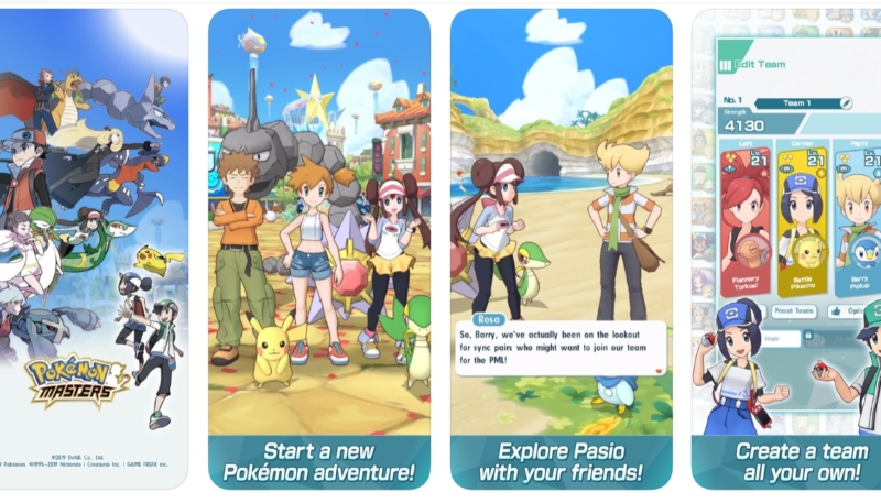 'Pokemon Master' Now Available to Download in iOS App Store