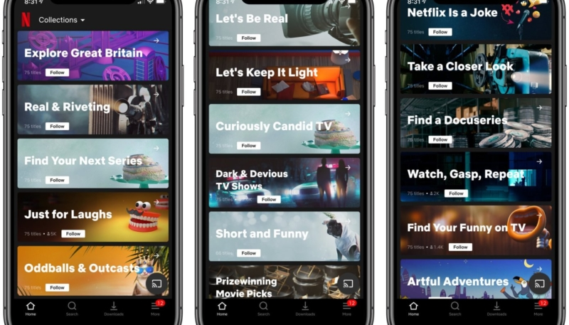 Netflix Testing Human-Curated 'Collections' Feature