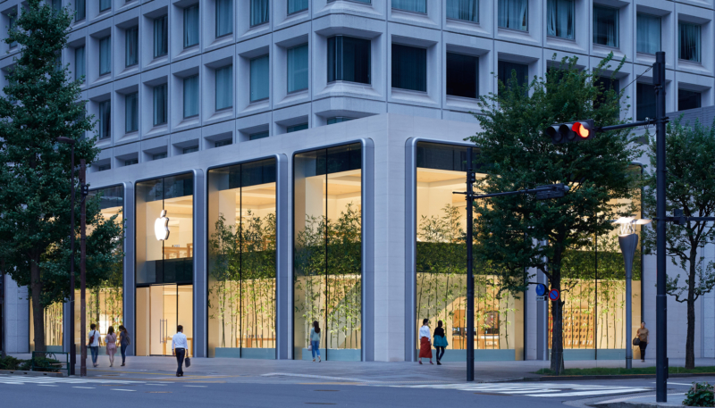 Apple's New Marunouchi Store Opening Saturday, September 7 in Tokyo – Largest Store in Japan