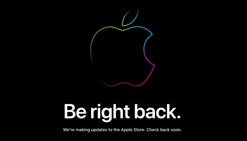 Online Apple Store Closed – Will 'Be Right Back' Following Today's iPhone Event