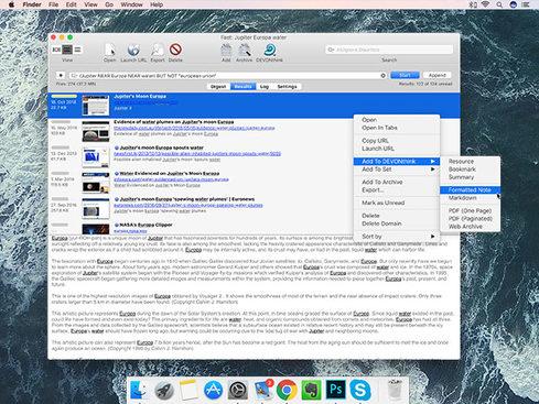 DEVONagent Pro for Mac