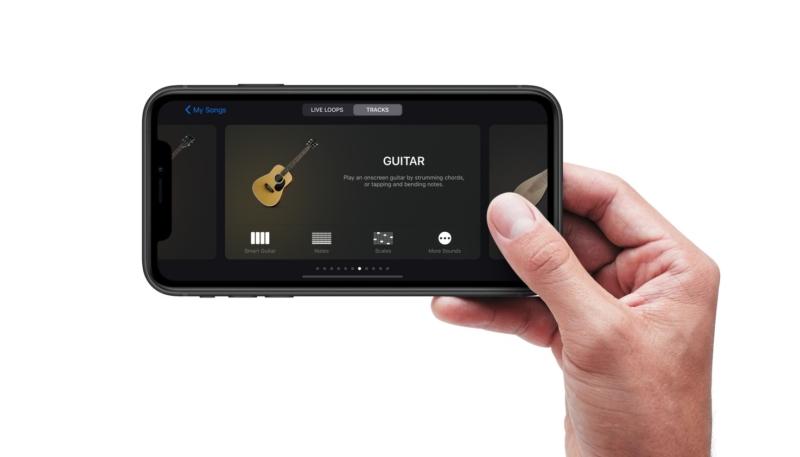 GarageBand iOS Update Brings Dark Mode, External Drive Support, More