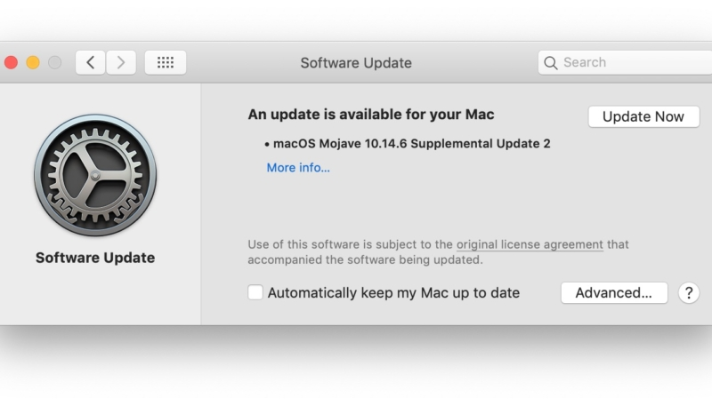 Apple Releases Second macOS Mojave 10.14.6 Supplemental Update to Fix Malware Flaw