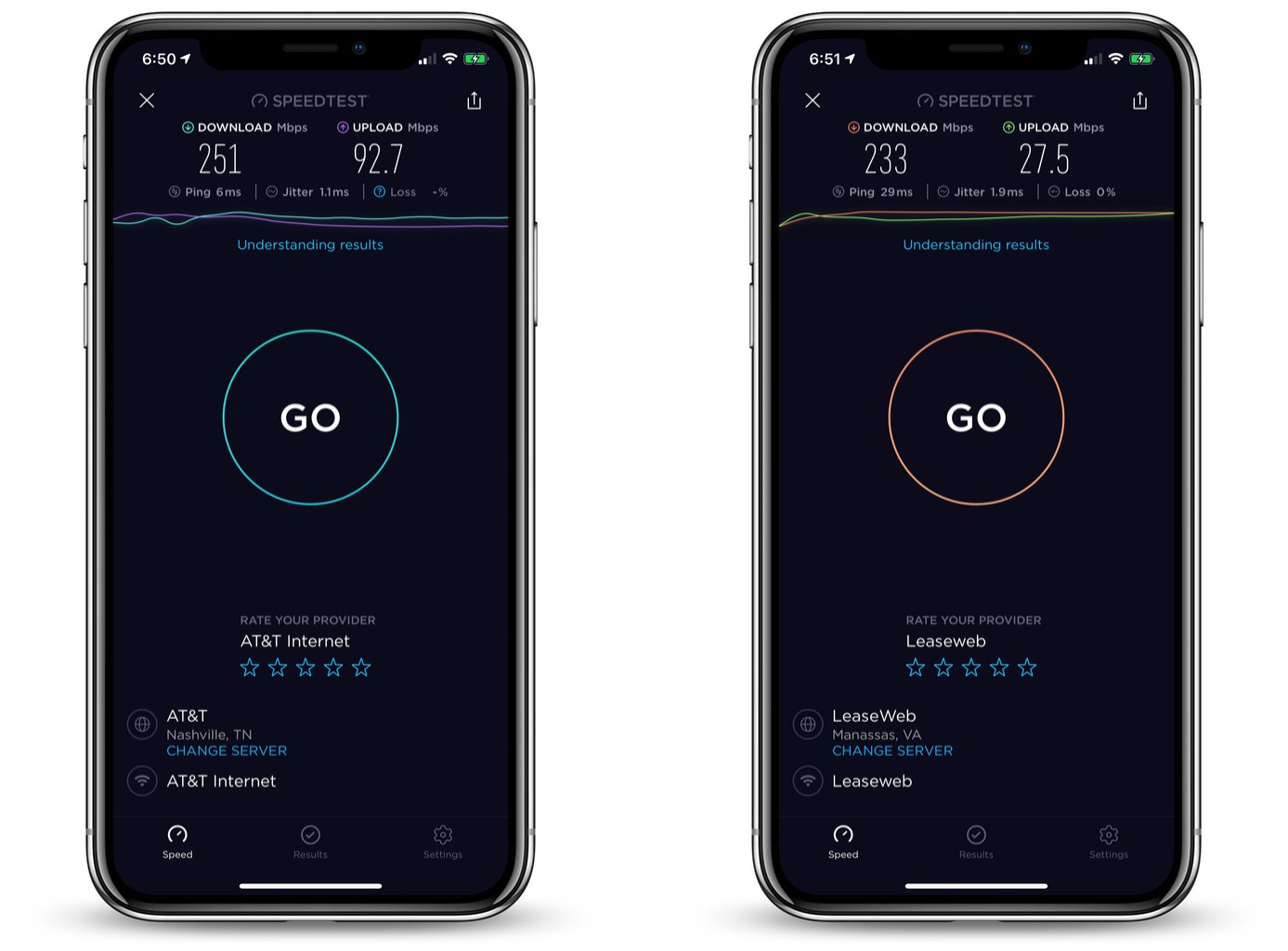 NordVPN_review_ios_app_speedtest