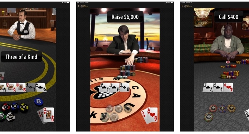 Apple's 'Texas Hold'em' Game Now Available on iPad