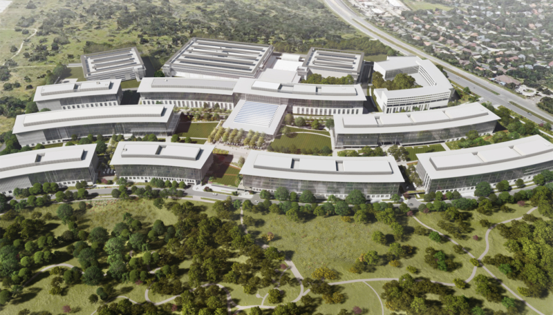 Apple Breaks Ground on New Austin Texas Campus Just Ahead of Visit by President Trump