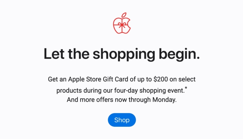 Apple Store Black Friday Deals Available Through Monday