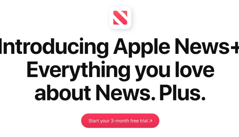 Get a Three Month Free Trial of Apple News+ This Weekend Only