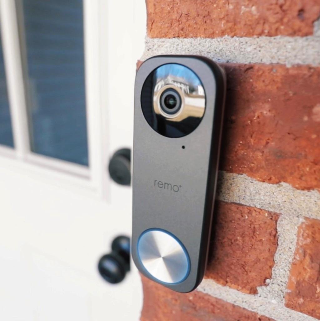 remobells video doorbell installed review.'