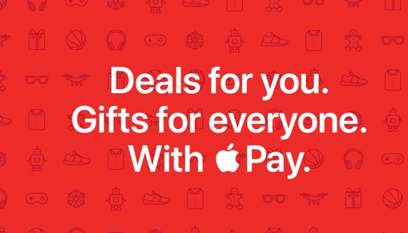 Get Holiday Discounts and Bonuses From Multiple Retailers When You Pay Online With Apple Pay