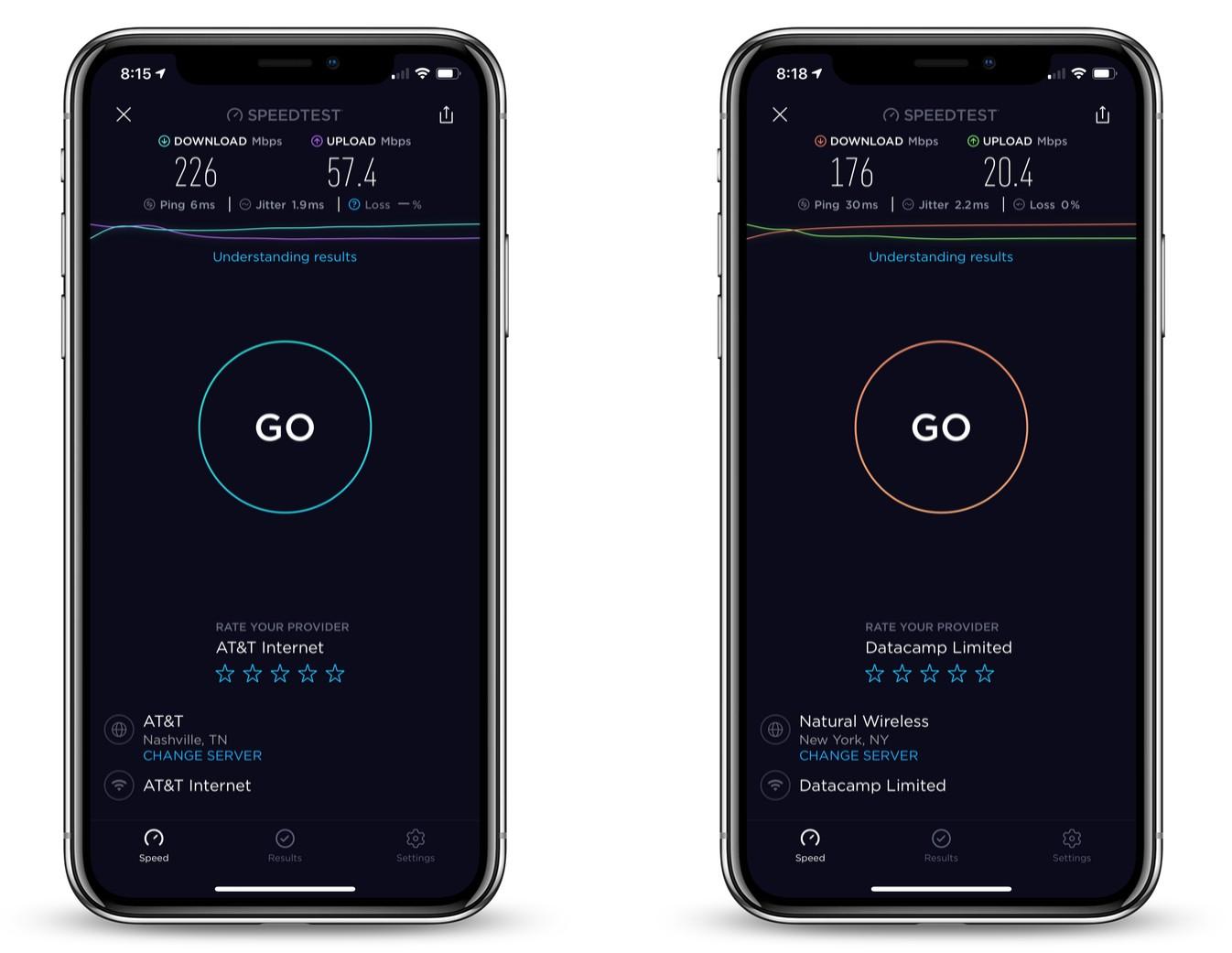 cyberghost_vpn_review_ios_speed_test