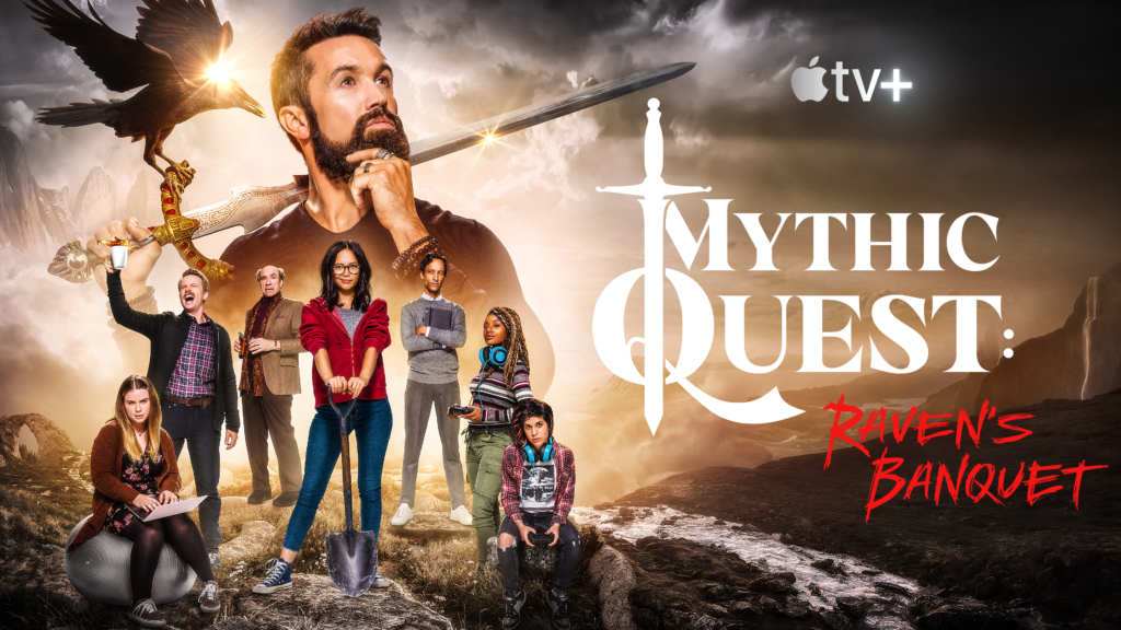 "First Apple TV+ Sitcom: ""Mythic Quest: Raven's Banquet"" Now Available For Viewing"