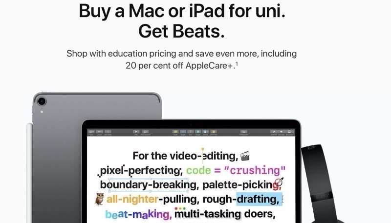 Apple Announces Launch of Annual 'Back to University' Promo in Australia, New Zealand, South Korea, and Brazil