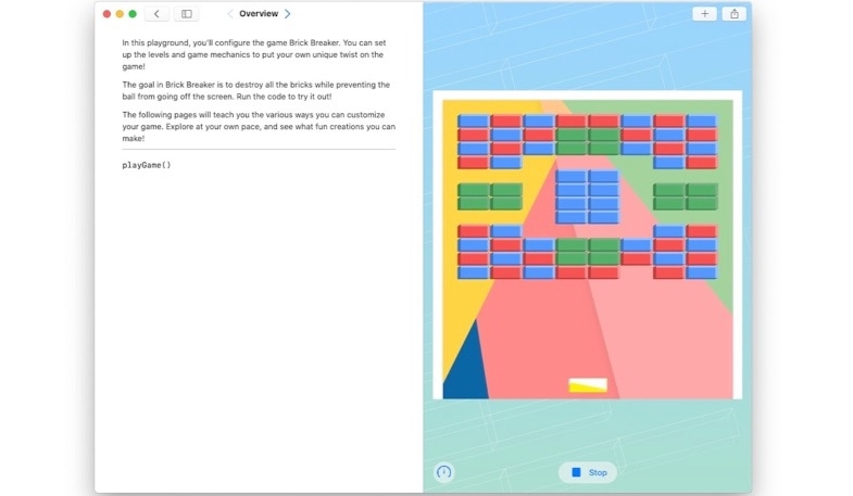 Swift Playgrounds Now Available in Mac App Store