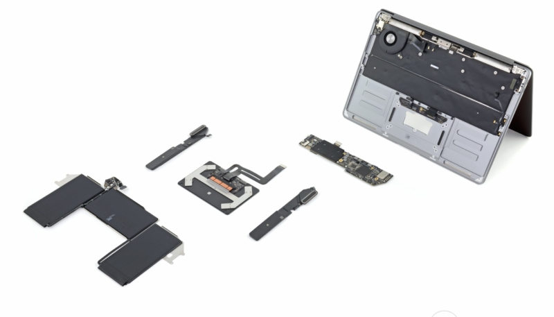 iFixit MacBook Air Teardown Offers a Look at New Scissor Keys and Easier Trackpad and Battery Access