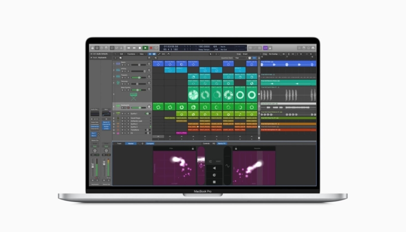 Image on Apple Education Site Possibly Leaks Upcoming Version of Logic Pro X