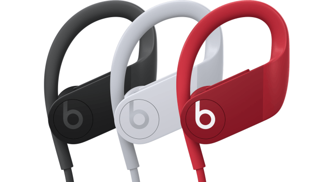 Photos of Powerbeats4 Leaked – Photos Show White, Black, Red Color Options
