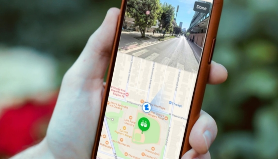 Apple Maps Look Around