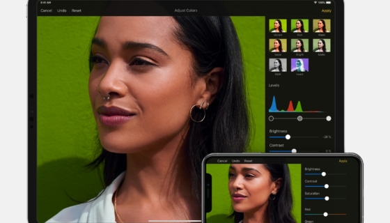Pixelmator 2.5 – 4 – Color Adjustments