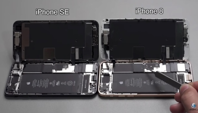 New Chinese Teardown Video Compares New iPhone SE to iPhone 8