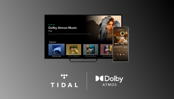 TIDAL Dolby Atmos Music